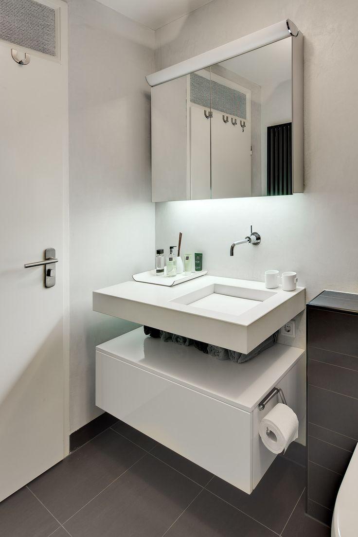 17 beste idee n over kleine ruimte badkamer op pinterest klein appartement opslag kleine