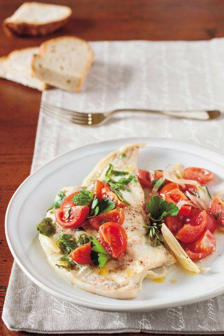Rombo in guazzetto #ricetta #recipe #fish #italy