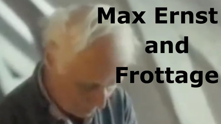 Max Ernst and Frottage Great video to show a class