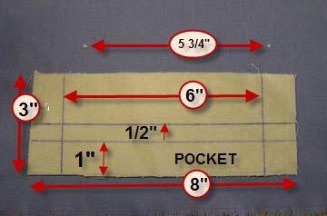 single welt pocket tutorial form Fashion Incubator