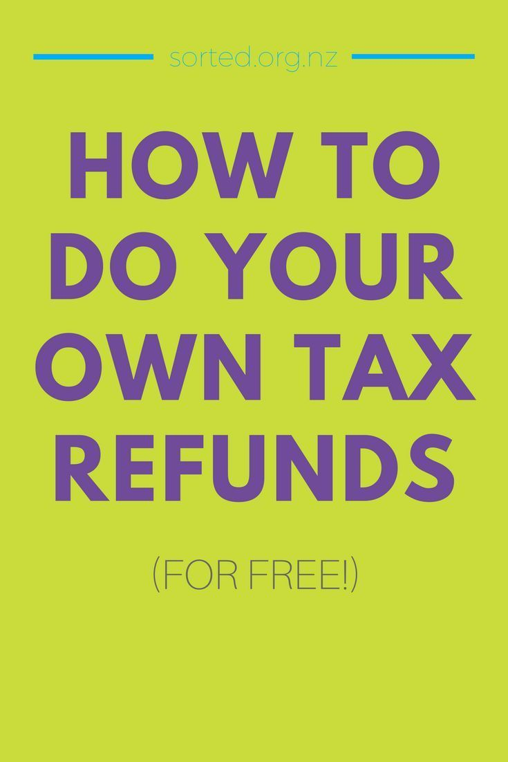 Do your own tax refund and get more money in your pocket! Tax refund companies can take as much as a 20% cut. How to easily check if you're eligible and get your tax refund - without paying anyone else to help
