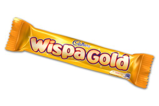 Favourite chocolate bar - pity you can't get them in Australia often or easily... Cadbury Wispa Gold | Cadbury.co.uk