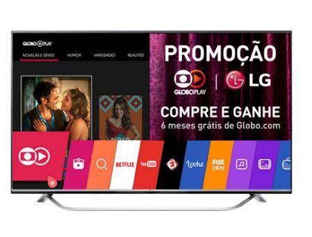 "Smart TV LED 60"" LG 60UF7700 UHD/4k 3 HDMI 3 USB - Preta e Cinza http://compre.vc/s/dfcf85cb #PreçoBaixoAgora #MagazineJC79"
