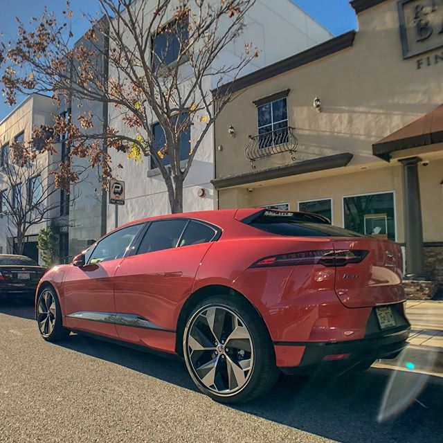 We Spent The Weekend With The Jaguar I Pace Electric Luxury Car The Sporty Four Door Is Loaded With Premium Features And Touts Impressi Luxury Cars Jaguar Car