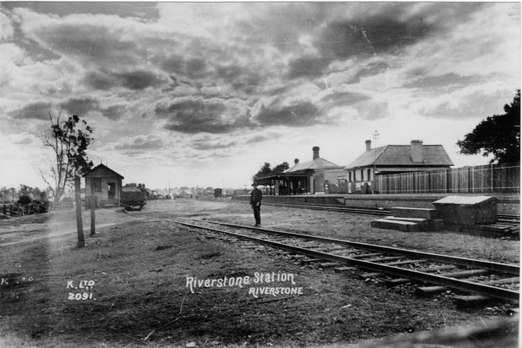 Riverstone Railway Station early 1900s