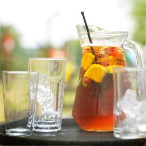 Pimms is the English drink of summer and loved round the world. It is shockingly easy to make, check out the recipe to see just how easy.