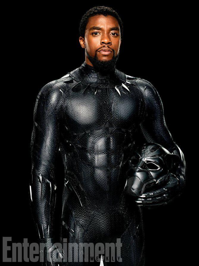 Black panther presenta oficialmente a sus personajes en nuevas imágenes