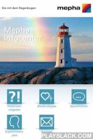 Mepha  Android App - playslack.com , Mepha Infocenter App für Ihr Smartphone / TabletIn der Mepha Infocenter App finden Sie einen Teil bewährter Servicedienstleistungen nun auch in elektronischer Form. Die Dienstleistungen wurden für den Gebrauch auf mobilen Endgeräten wie Smartphones und Tablets optimiert. Die beliebtesten Mepha-Ratgeber stehen als E-Book zur Verfügung. Zum Themengebiet Herzkreislauf bietet Mepha einen elektronischen Bluckdruckpass, mit dem Patienten ihre Blutdruckwerte auf…