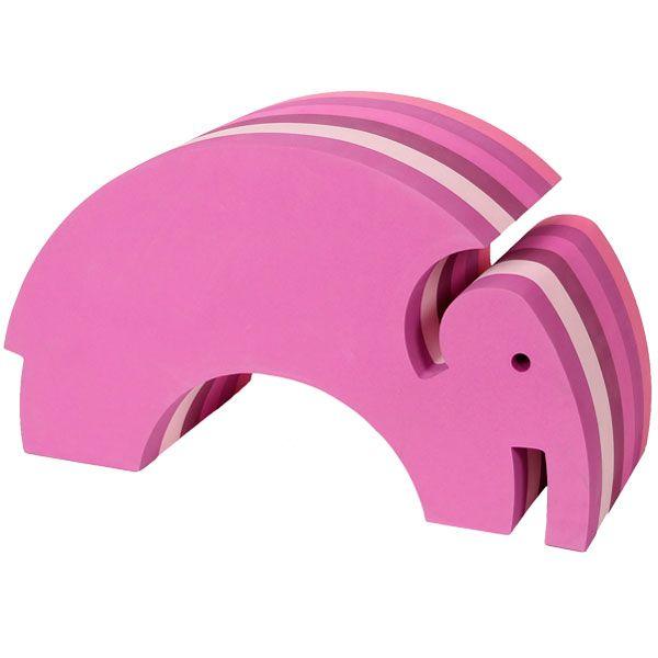 Elefantti, vaaleanpunainen