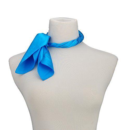 Mujeres bufanda cuadrada 57 * 57 cm OL