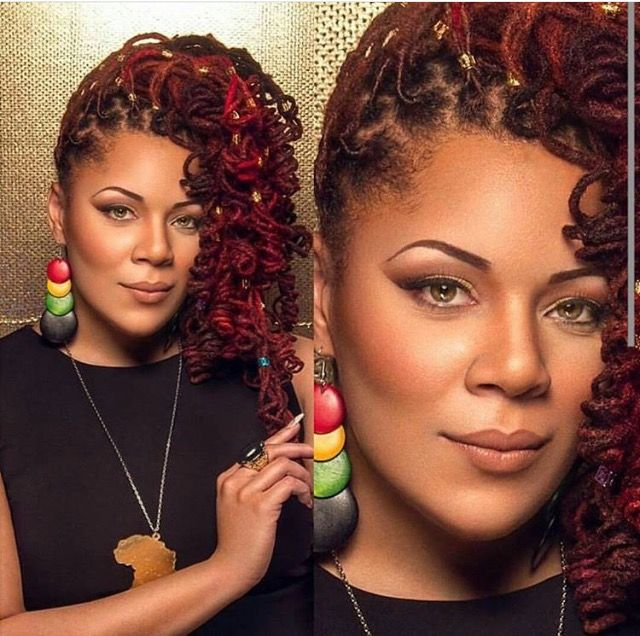 braids styles with hair 1436 best loc styles images on hairdos 4362
