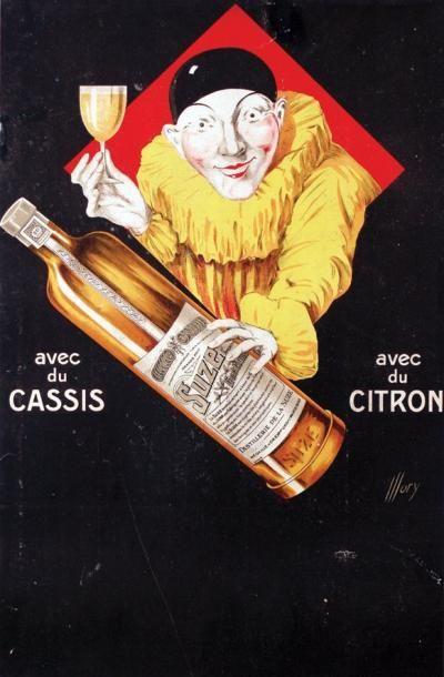Suze - Gentiane - illustration de Illory -