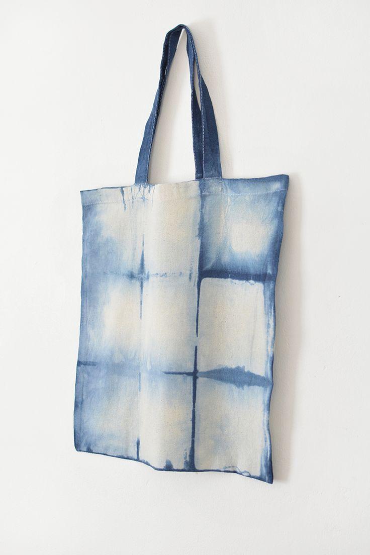 DIY shibori shopping bag @burkatron