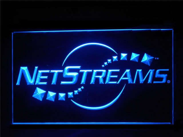 Netstreams Dealer Logo Display Led Light Sign