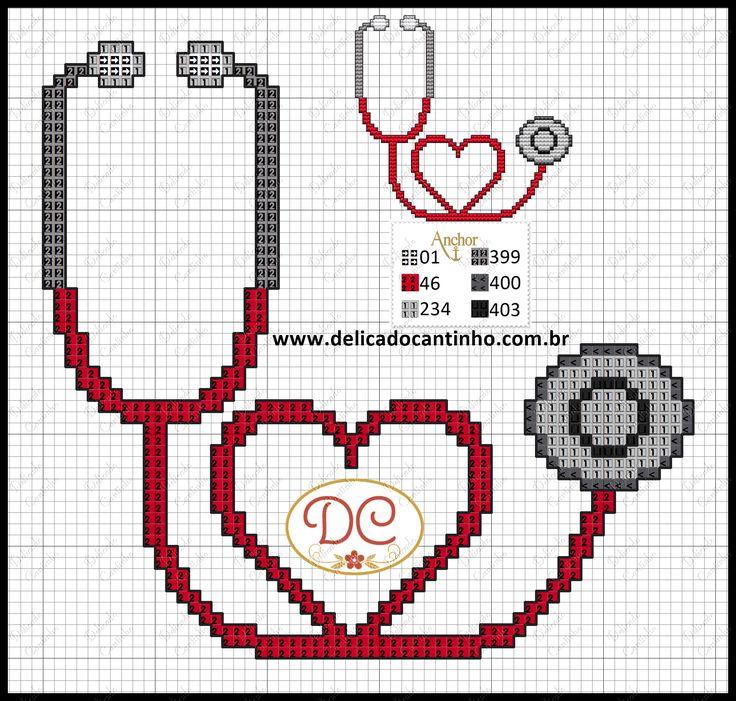 http://www.delicadocantinho.com.br/2016/05/grafico-ponto-cruz-estetoscopio.html
