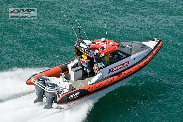 AMF 950 RIB. New rescue boat.-252 by AMF Boats, via Flickr