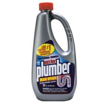Mister Plumber Drain Opener, 32 oz.