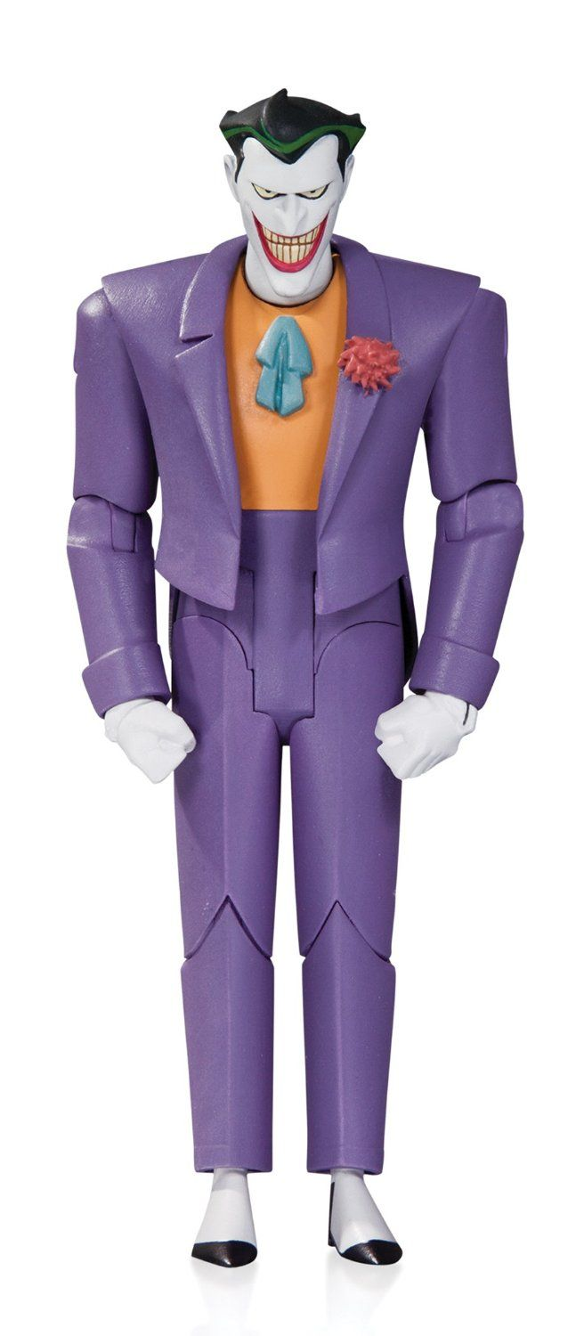 Amazon.com: DC Collectibles Batman: The Animated Series: The Joker Action Figure: Toys & Games