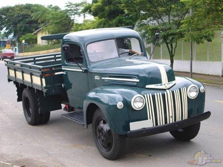 Caminhão Ford 1946 V8 8BA - uma raridade. Face: Harim harim