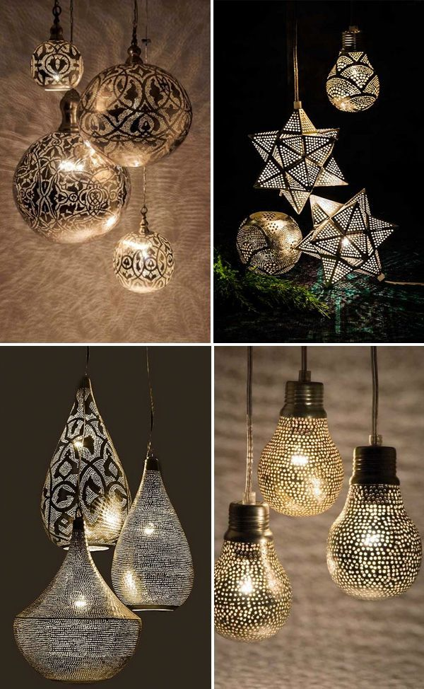 New supply, including some beautiful new designs, of the popular Egyptian lights have arrived. I think these handmade copper lights make a perfect gift! You can see all available designs here.