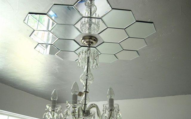 Las 25 mejores ideas sobre espejos de concha en pinterest for Como decorar un espejo cuadrado
