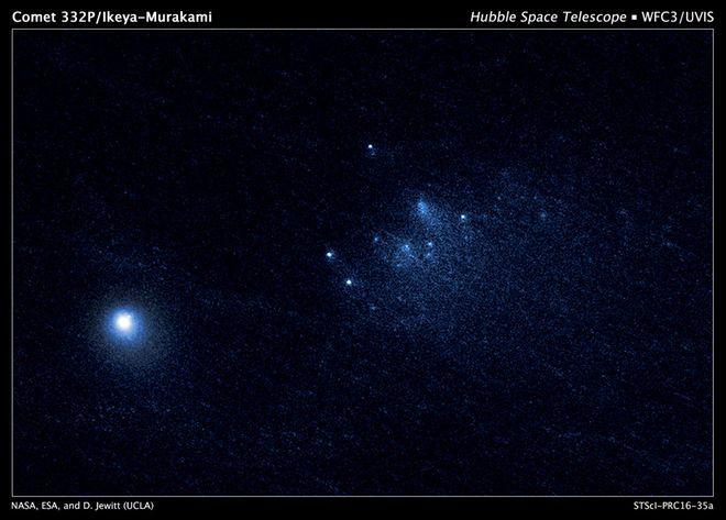 Hubble Telescope Snaps Best-Ever Views of a Comet's Disintegration