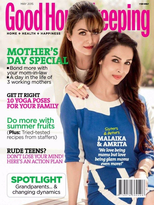 May 2015 edition of Good Housekeeping Magazine is ready to sale with awesome ideas of Houskeeping!  #GoodHouseKeeping #May2015Issue #Home