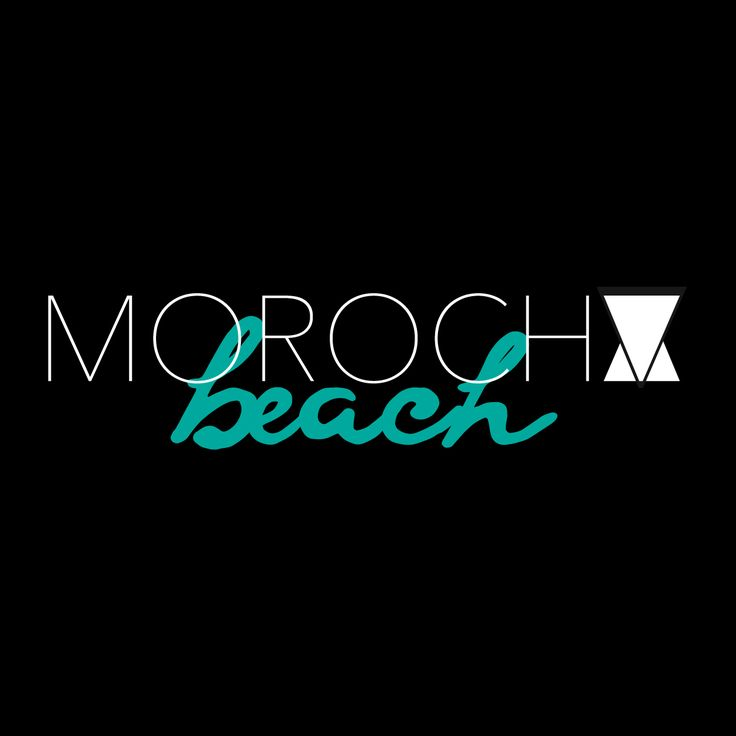 Diseño y Desarrollo de Marca. Cliente: Morocha Beach Club.  #Brand #Logo #Advertising