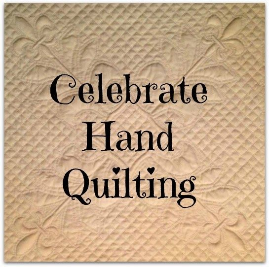 Celebrate Hand Quilting Wonderful blog with great posts for beginner quilters who have never hand quilted before.