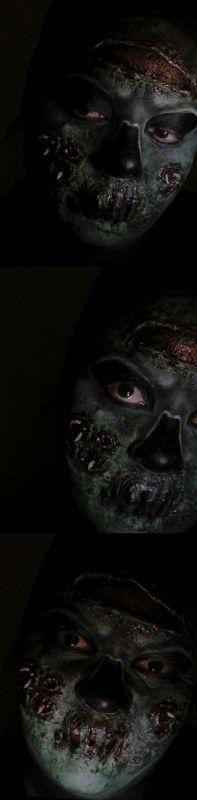 Maquillaje Zombie (Halloween 2016)