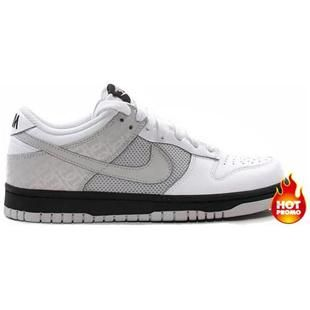 Womens Nike Dunk Low 08 LE (white neutral grey-black)
