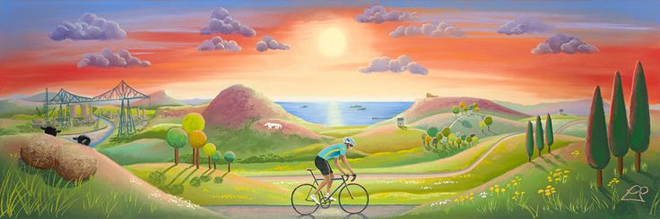 Tour de Yorkshire 2016 http://lucypittaway.co.uk/collections/cycling-and-le-tour