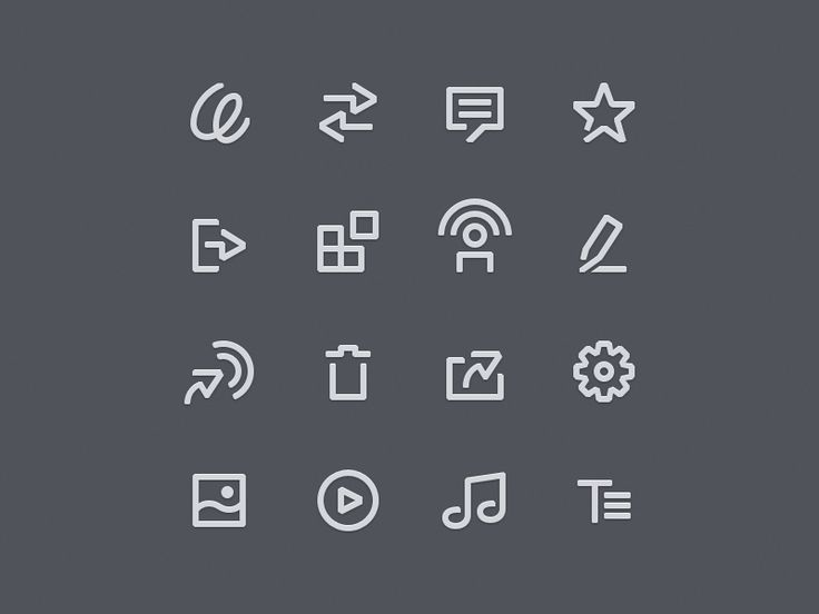 Stampsy App Interface Icons