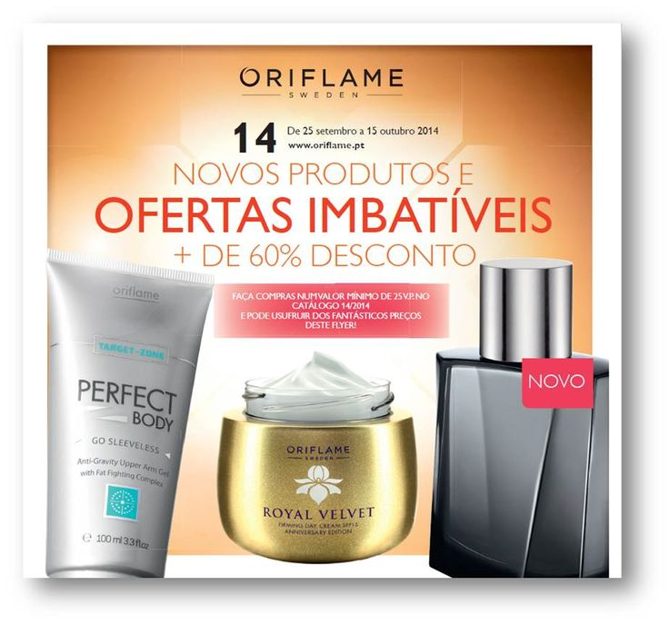 Flyer do Catálogo Oriflame 14 2014