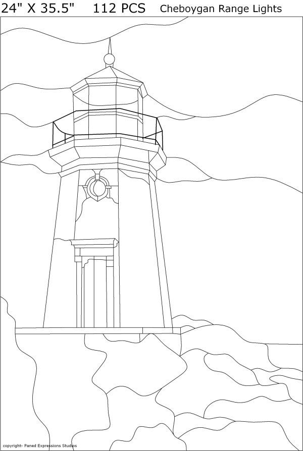 25 unique lighthouse craft ideas on pinterest to the for Glass cut work designs