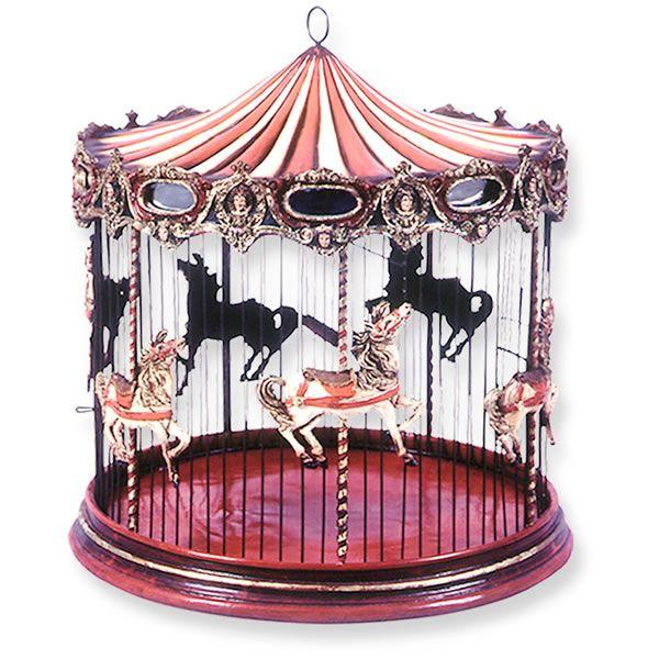 クラッシックなメリーゴーランドの鳥かご 綺麗 サーカスシリーズでした メリーゴーランド 鳥かご ペット 遊園地 イラスト メリーゴーランド メリーゴーランド イラスト