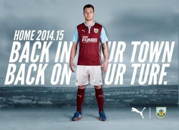 Burnley FC 2014/15 PUMA Home Kit