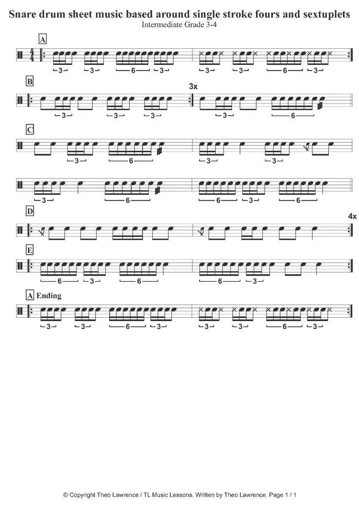 17 best images about drum sheet music on pinterest creedence clearwater revival sheet music. Black Bedroom Furniture Sets. Home Design Ideas