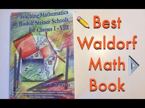 THE BEST MATH BOOK FOR WALDORF EDUCATION | TEACHER RESOURCE | STEINER BOOKS - YouTube