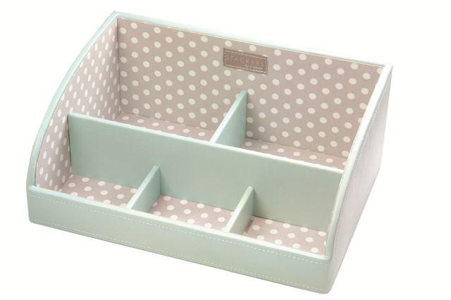 Stacker Caddy - Duck Egg Blue - jewellery/Cosmetic Storage Box | eBay