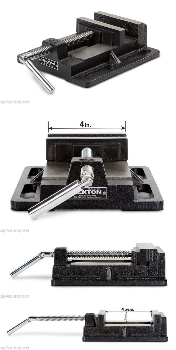 Drill Presses 71296: Tekton 4-Inch Drill Press Vise | 53994 -> BUY IT NOW ONLY: $31.99 on eBay!