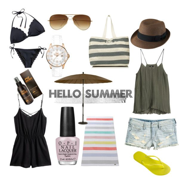 """Hello Summer"" by louiseenorris on Polyvore"