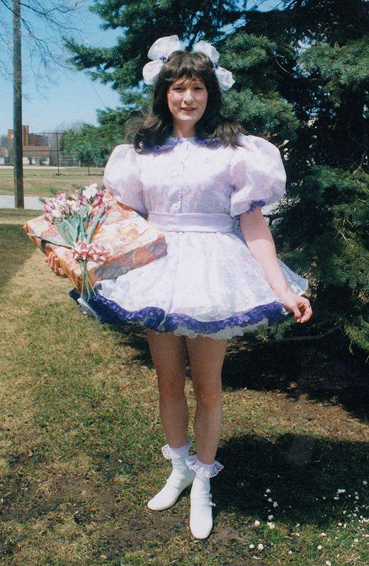 Dawn S Lil Girl Birthday Fantasy Sissy Dress Is An