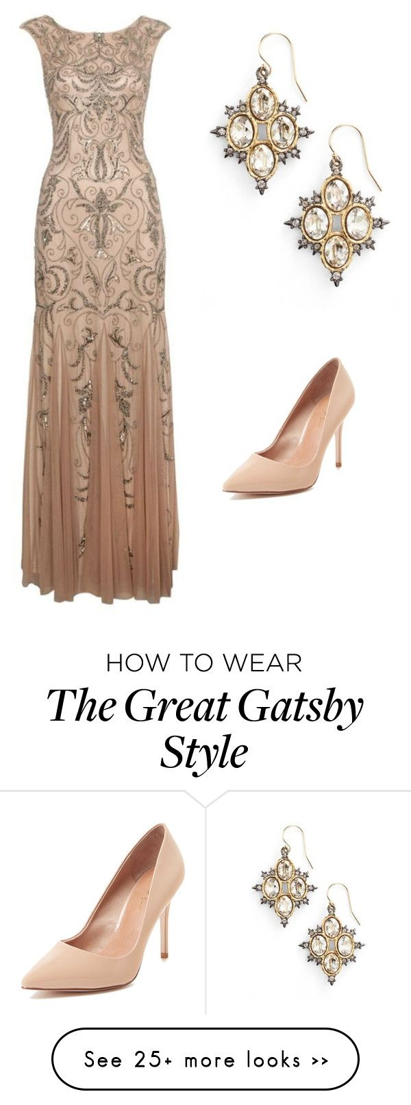 """Gatsby"" by jendish on Polyvore featuring Alexis Bittar and Maiden Lane"