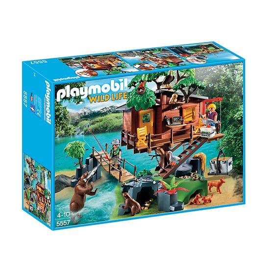 Playmobil Wild Life 5557, Äventyrsträdkoja