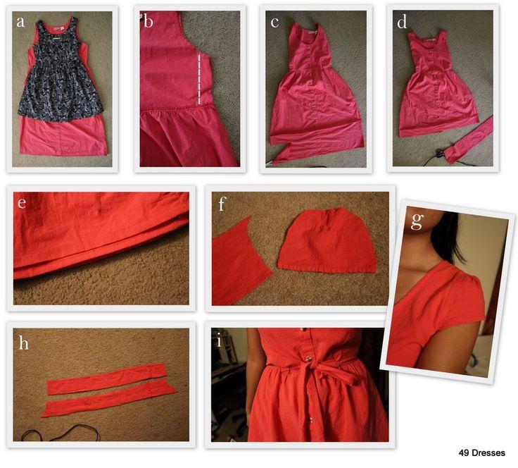 great job!Crafts Ideas, Diy Crafts, Dresses 282 29 Jpg 1 024 925, Pretty In Pink, 49 Dresses, Diy Clothing, Pink Sorting, 1 024 925 Pixel, Refashion