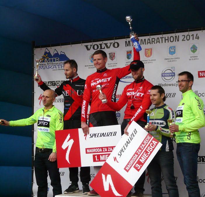#romet #mtb #team #maraton #firstplace