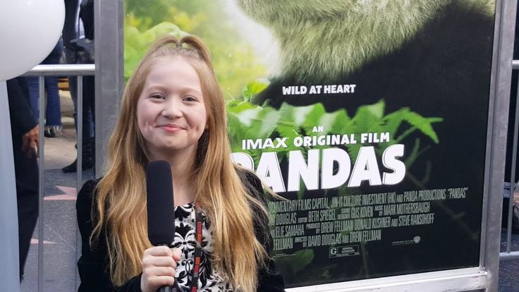 Pandas interviews conducted by KIDS FIRST! Film Critic Abigail L. #KIDSFIRST! #Pandas #IMAX