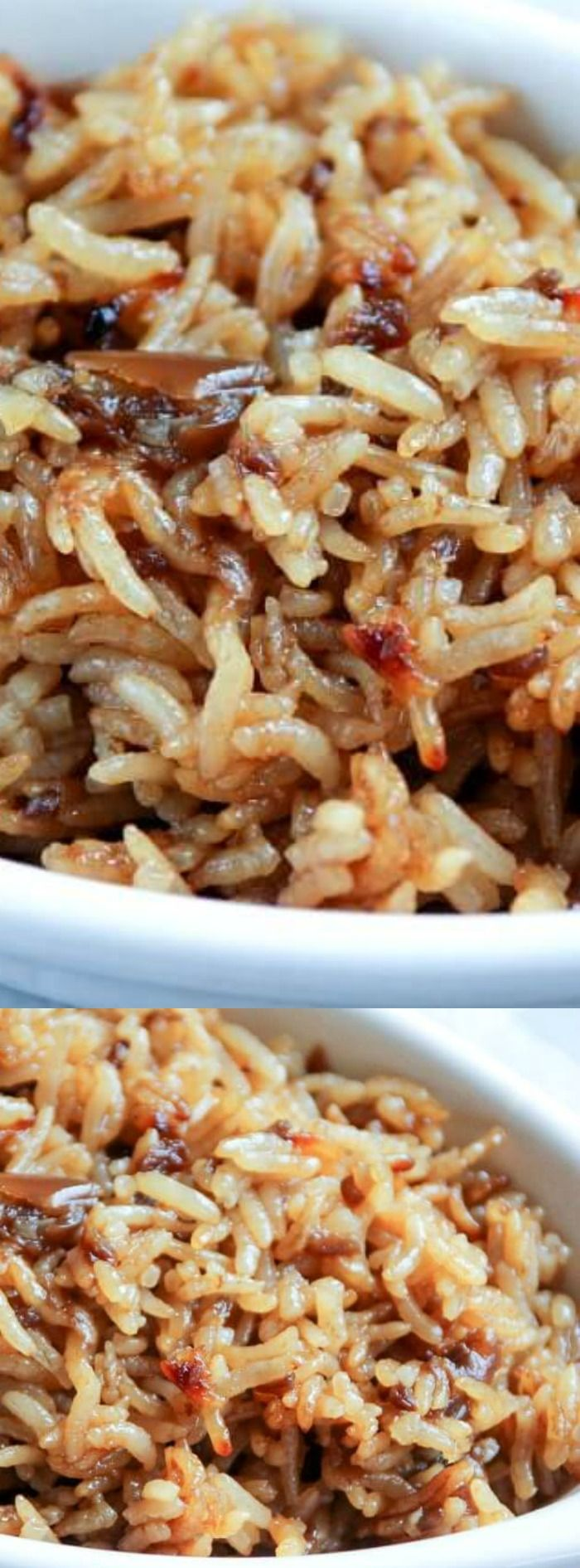 This Stick of Butter Rice recipe from Amanda over at The Chunky Chef will become one of your new favorite side dish recipes for sure! It only has 4 ingredients — yes… only FOUR and it tastes amazing when it's done.