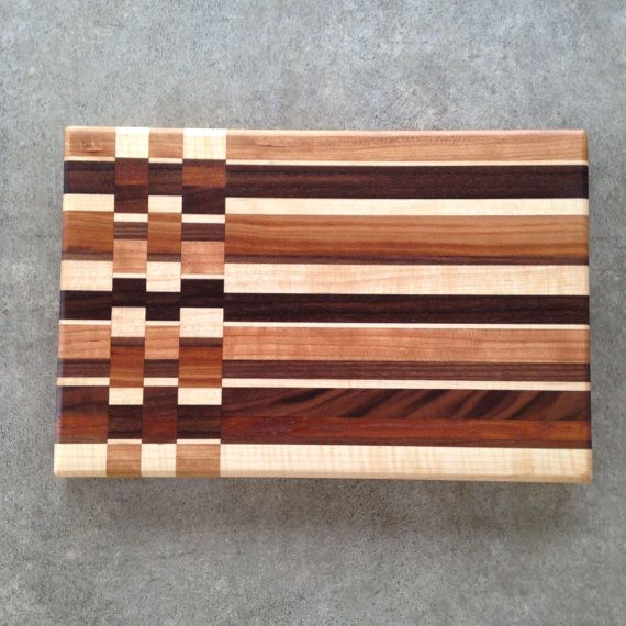 Wooden Cutting board  Solid-wood cutting board  by FlipDogDesigns